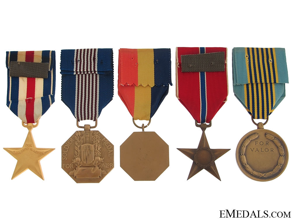 Five American Medals