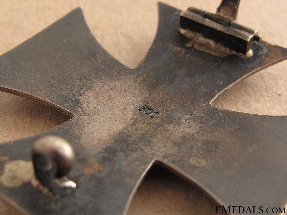 A Complete Iron Cross 1st Class 1914