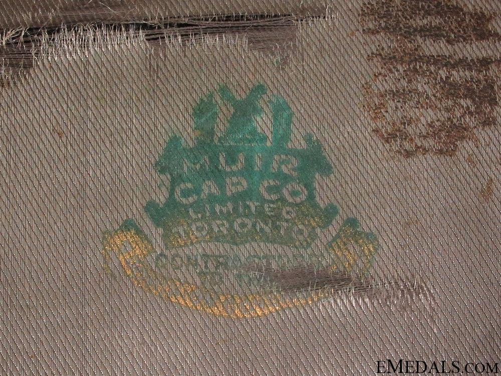 WWI C.A.S.C Officer's Visor CEF