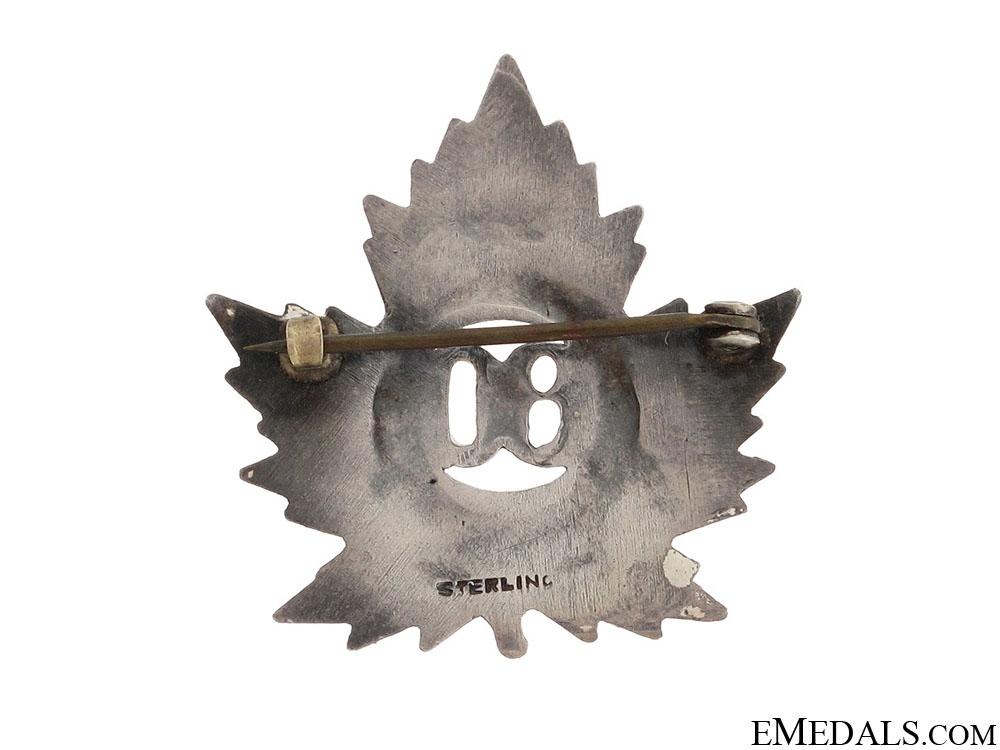 WWI 80th Infantry Battalion Pin CEF