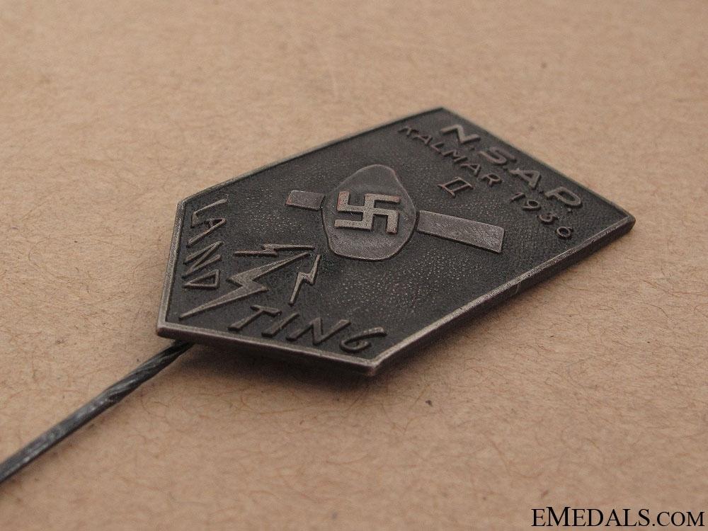 1936 NSAP Kalmar Stick Pin