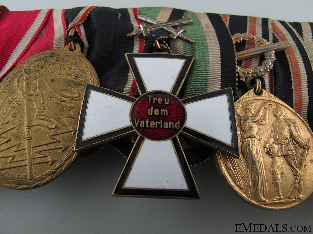 WWI German Veteran's Group of Eight