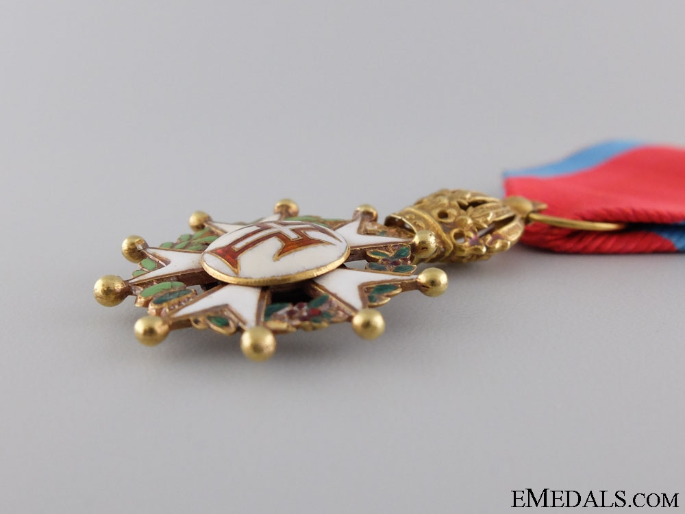A Rare Brazilian Order of the Christ in Gold; Knight's Breast Badge