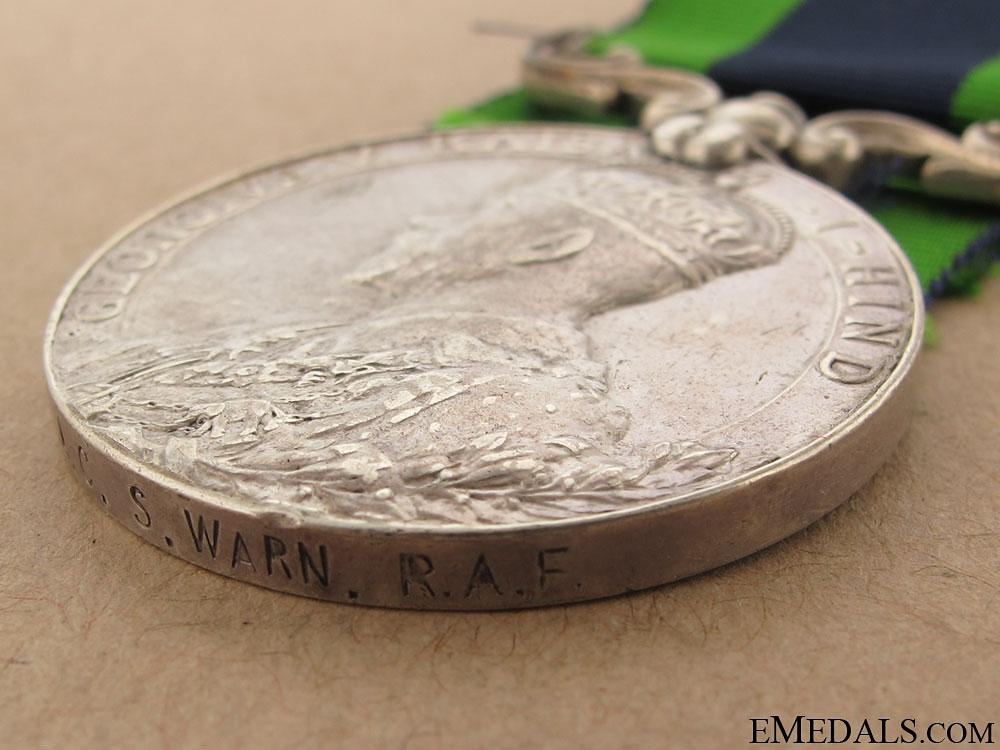 India General Service Medal - RAF