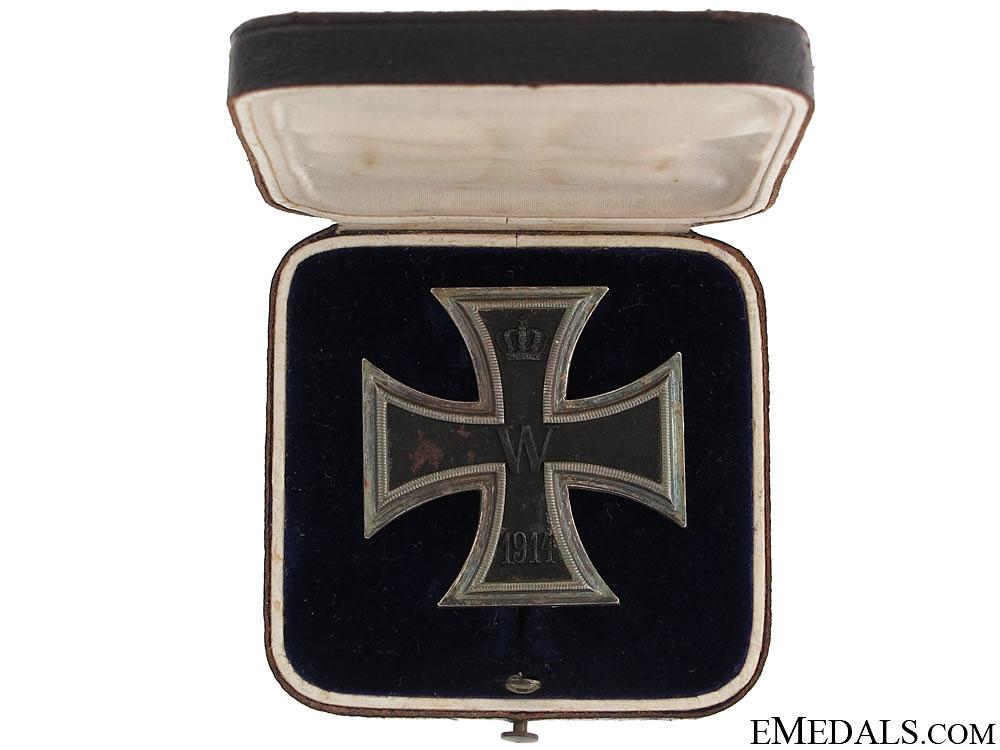 Iron Cross 1St. Class 1914 – Maker WS
