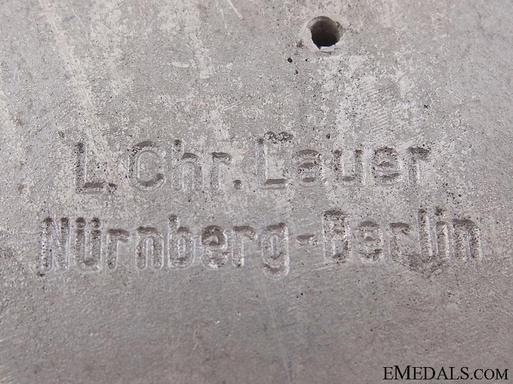 A 3000 Km Reichsautobahn (Motorway) Plaque