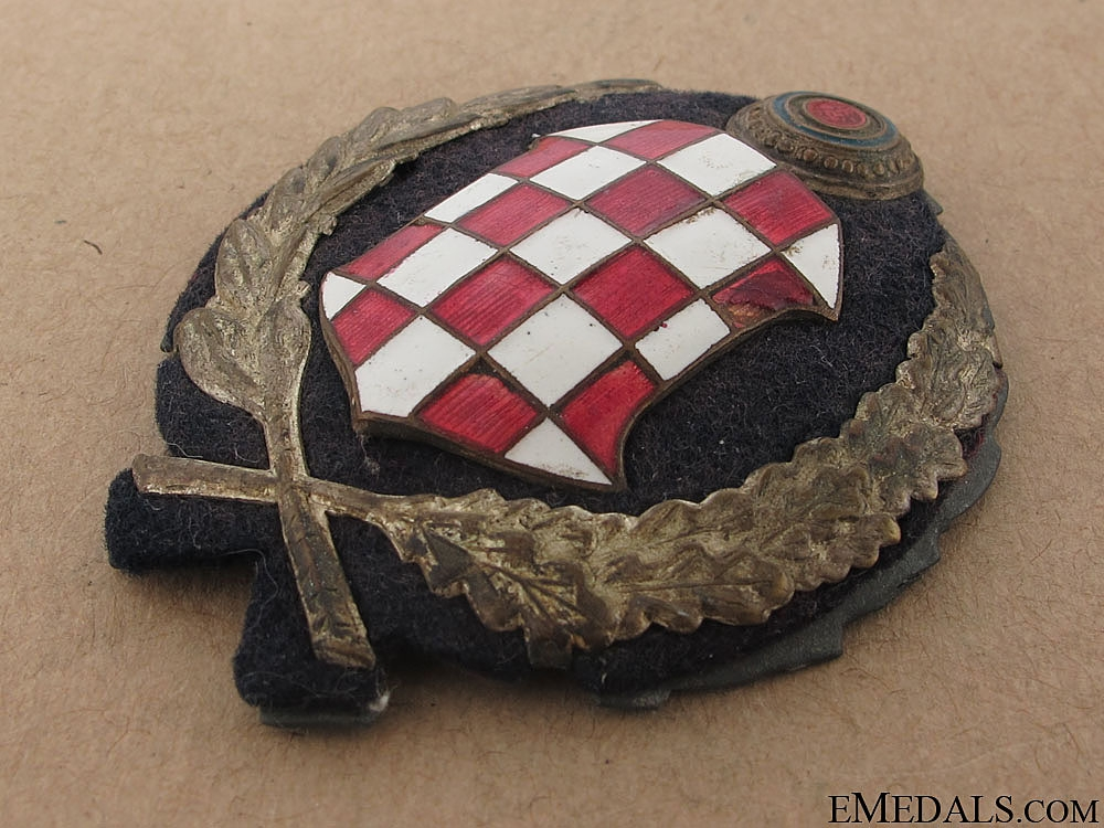 Early WWII period Police Leader's Cap Badge (1941)