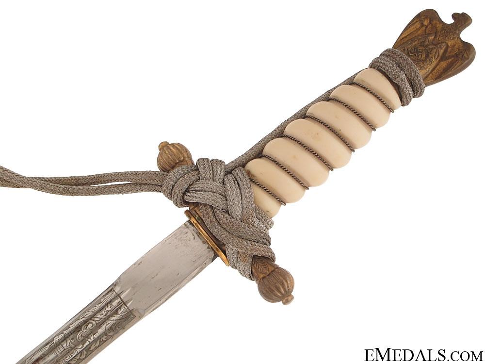 A Naval Dagger by Hörster