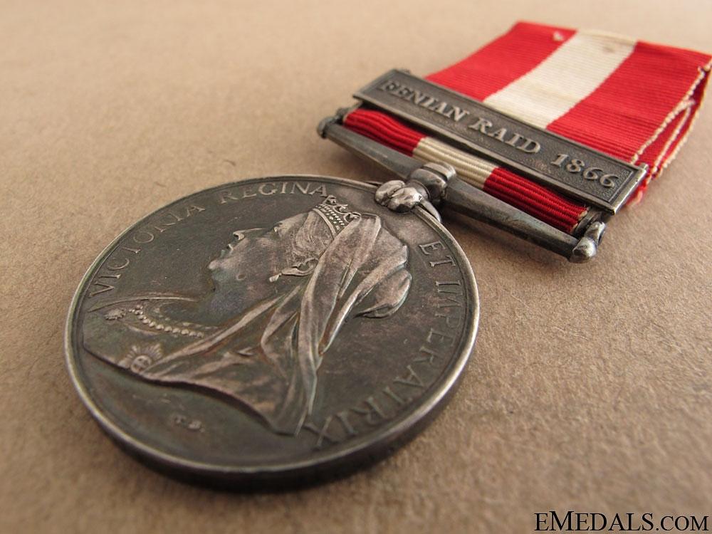 Canada General Service Medal - New Brunswick Garrison Artillery
