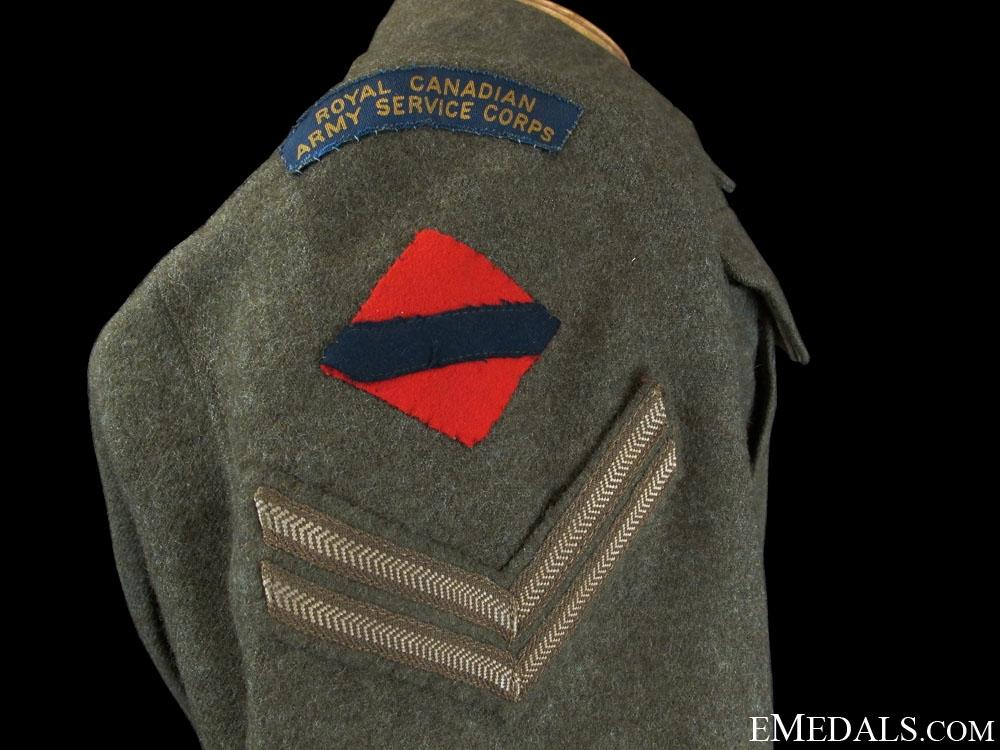 A Named WWII Canadian Battledress