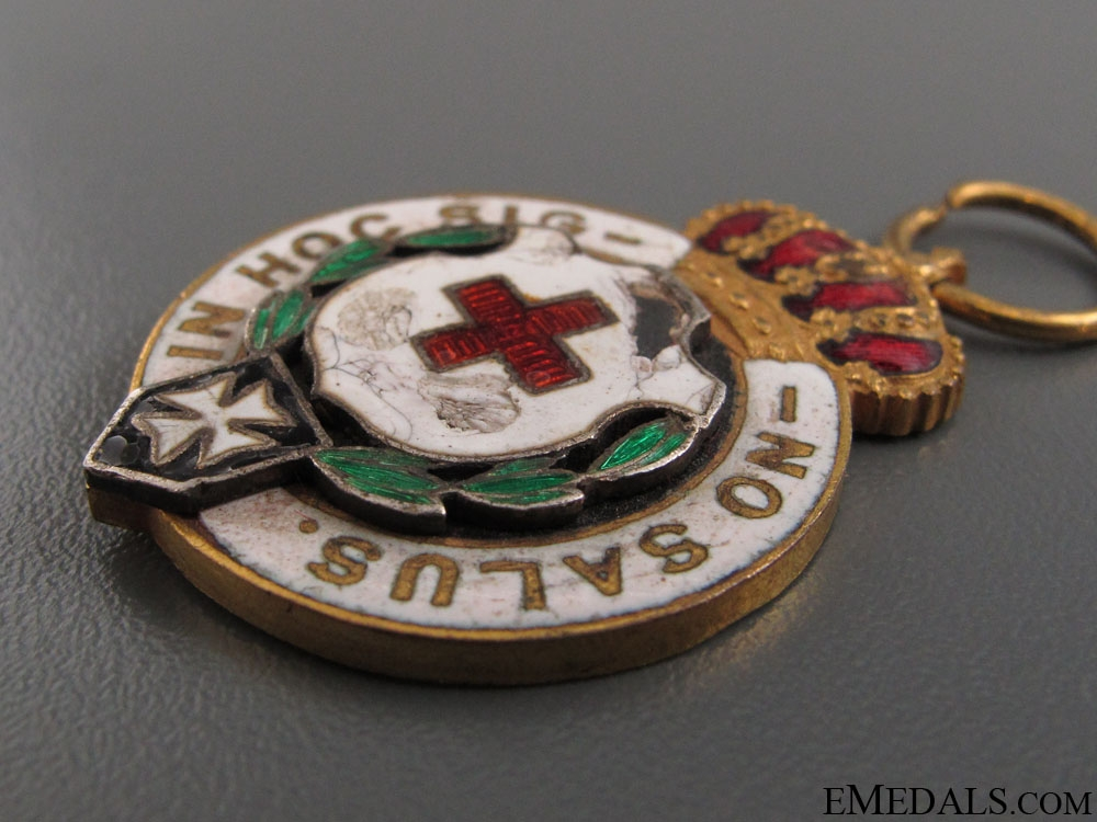 "Miniature Red Cross ""Feast of the Flag"" Medal"