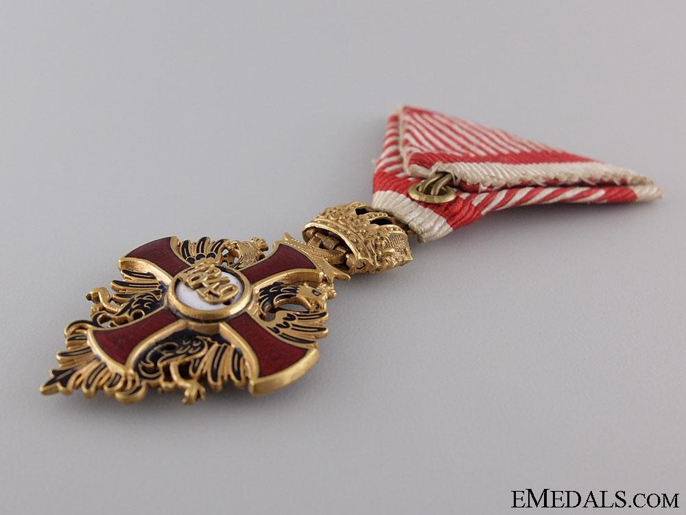 An Austrian Order of Franz Joseph; Knight, c.1918