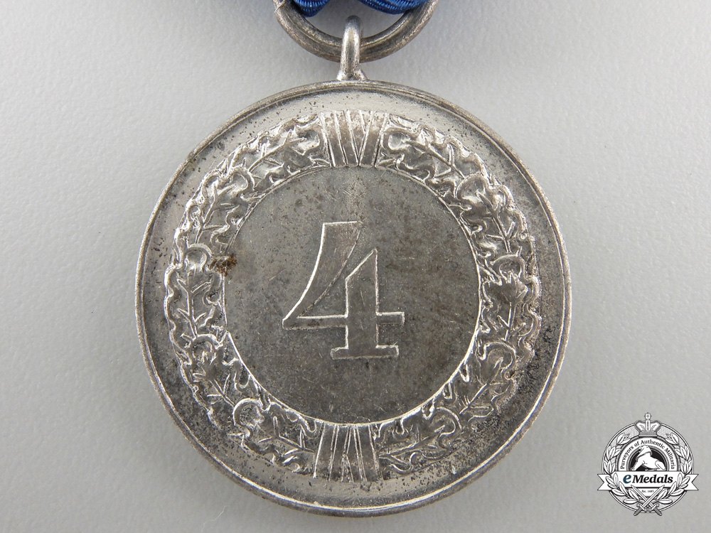 AWehrmacht Long Service Medal; 4th Class
