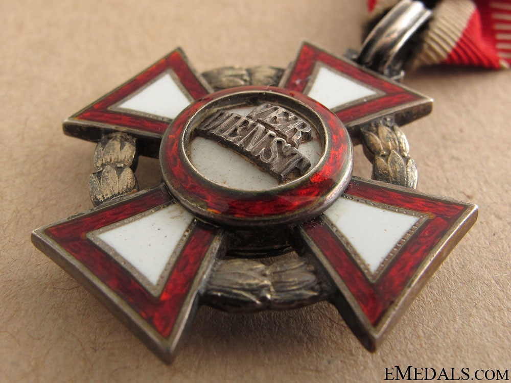 Military Merit Cross with War Decoration by Mayer
