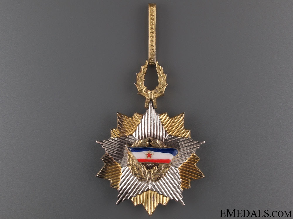 Order of the Yugoslav Flag - Commander