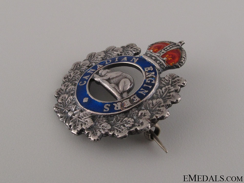 WWI Royal Canadian Engineers Pin CEF