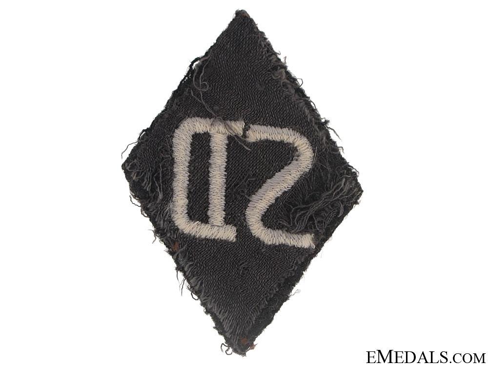 SD NCOs Sleeve Diamond Insignia