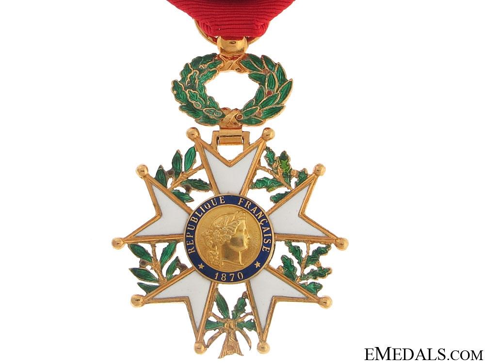 Legion D'Honneur – Officer 1870-1951