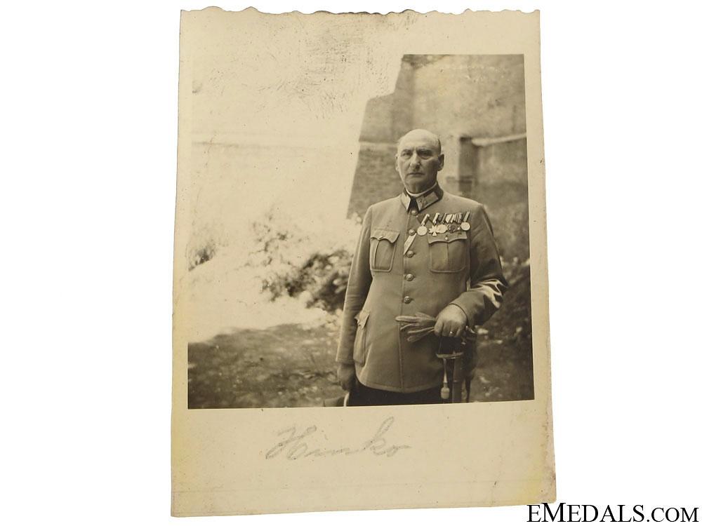 Two Photos of Ustasha Officer