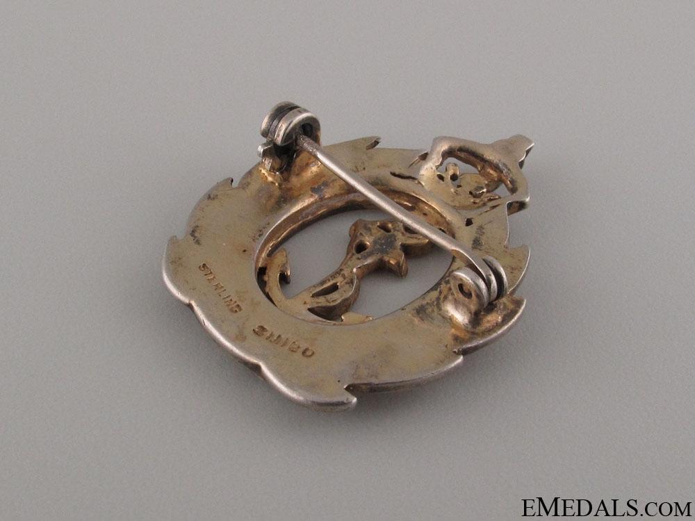 WWII Royal Canadian Naval Volunteer Reserve Pin