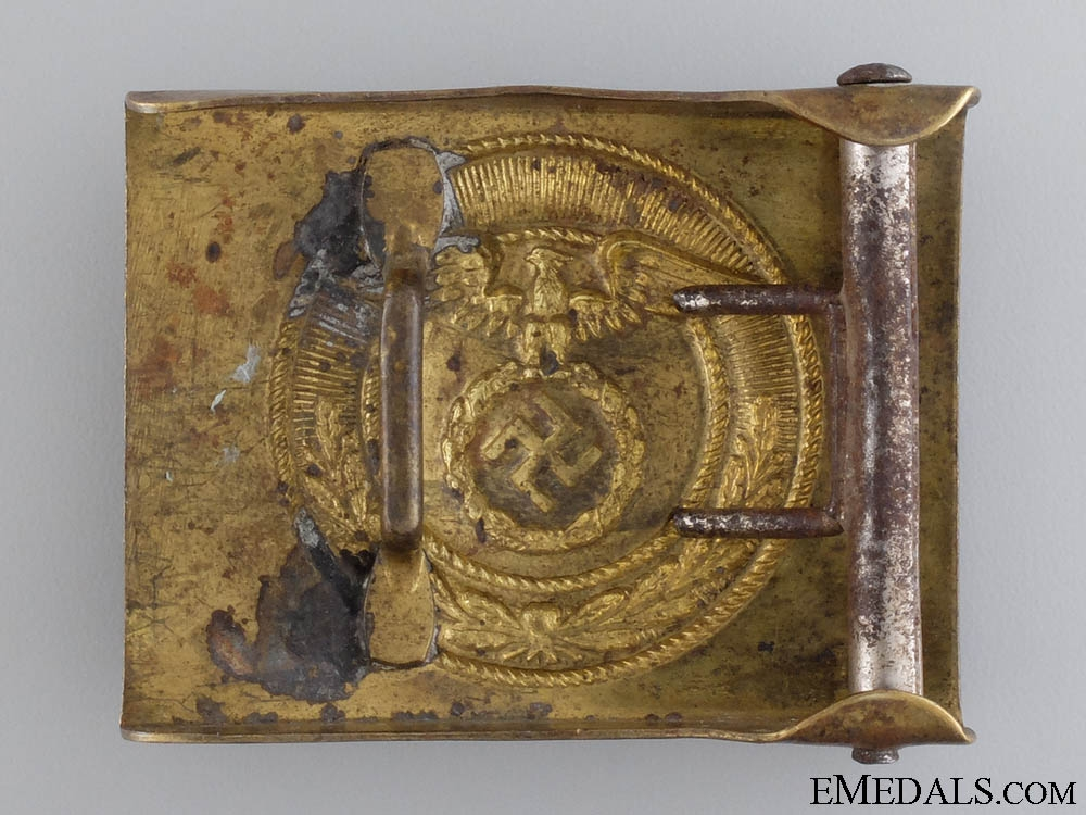 An SA Belt Buckle for Enlisted Men/NCOs