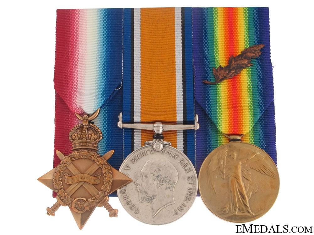 First War Trio to Captain Lindsay, C.E.F