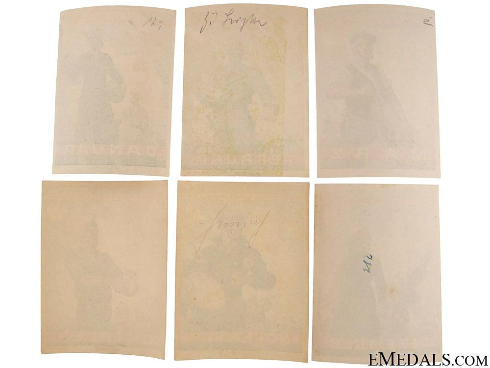 Set of Winterhilfswerk (WHW) Handouts, 1939-1940
