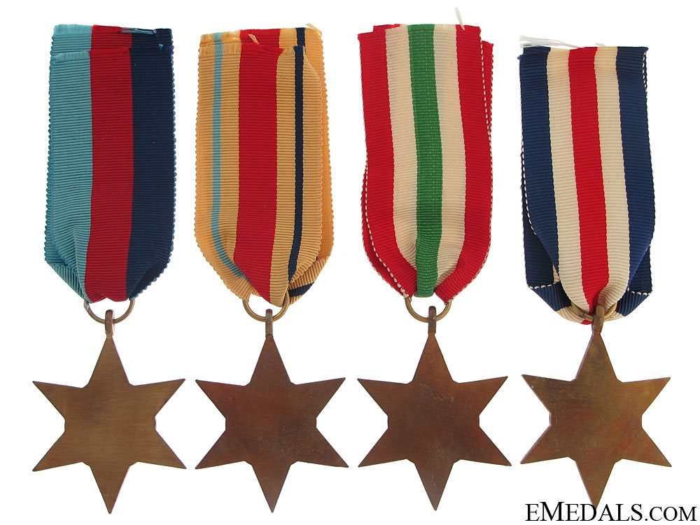Four WWII Stars