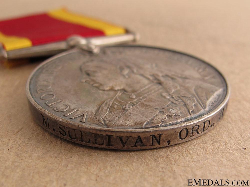 China War Medal 1900 - HMS Goliath