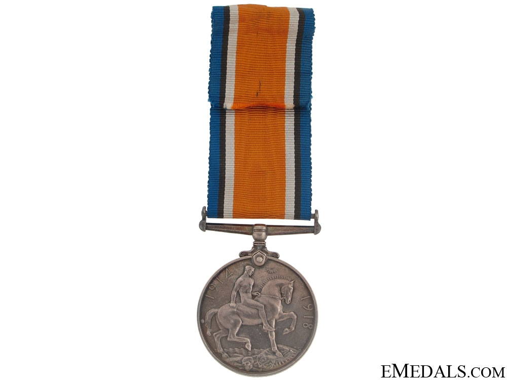 WWI British War Medal - Canadian G.H.Q. 3-ECH