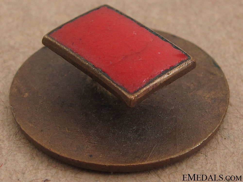 WWI CEF 1st Division Badge