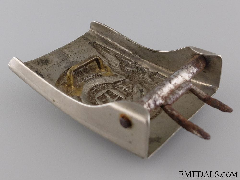 An SS Enlisted Man's/Non-Com Belt Buckle by Overhoff & Cie, Lüdenscheid