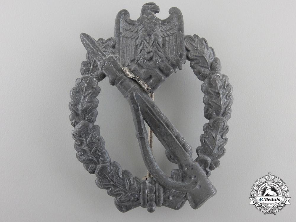 AnInfantry Assault Badge; Silver Grade