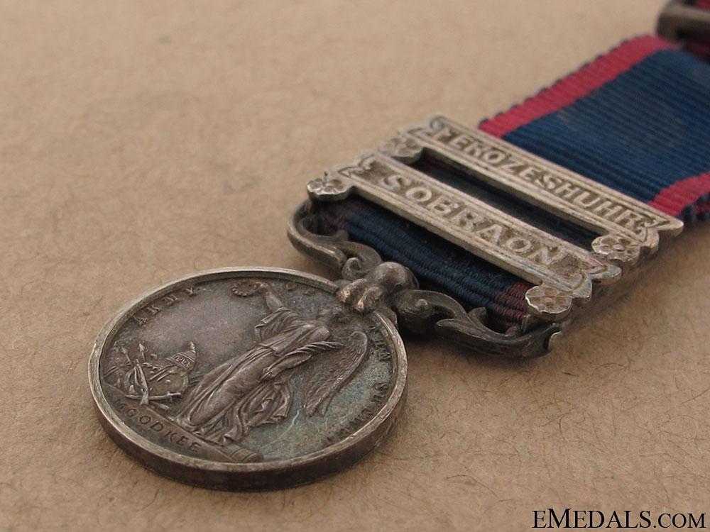 A Miniature Sutlej Medal 1846