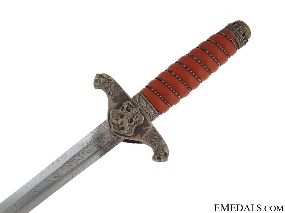 Bulgarian Army Officer Dagger – R. Klaas