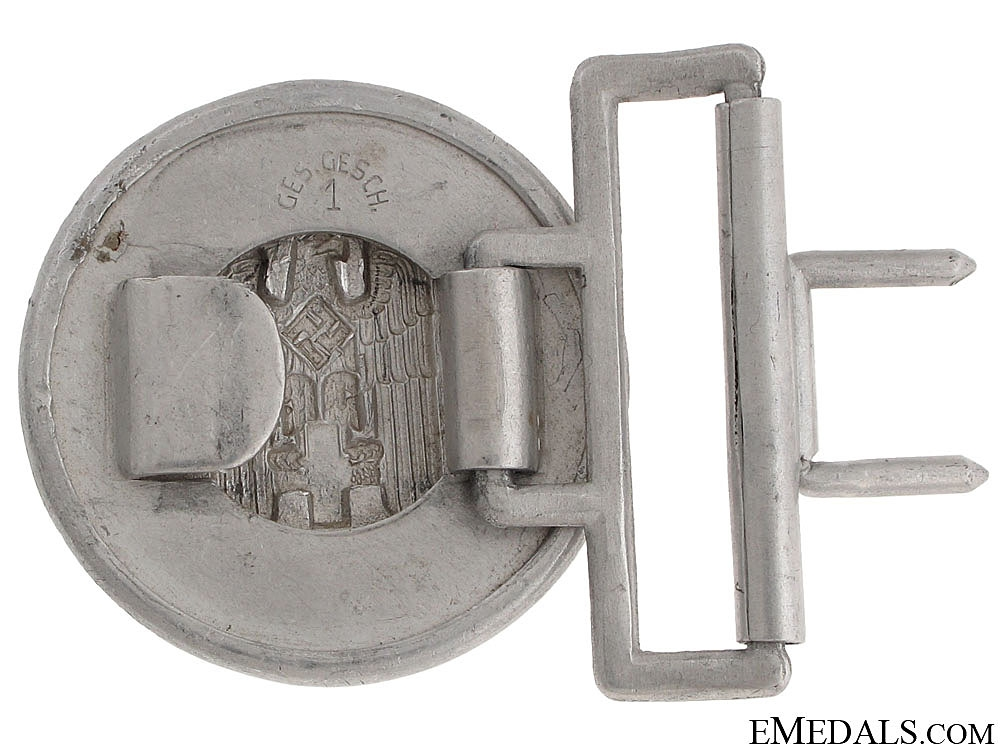 Red Cross Officer's Buckle 1938