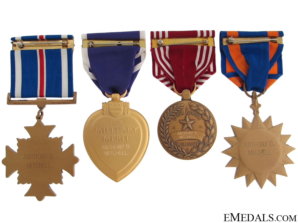 The Awards of Captain Mitchell - KIA