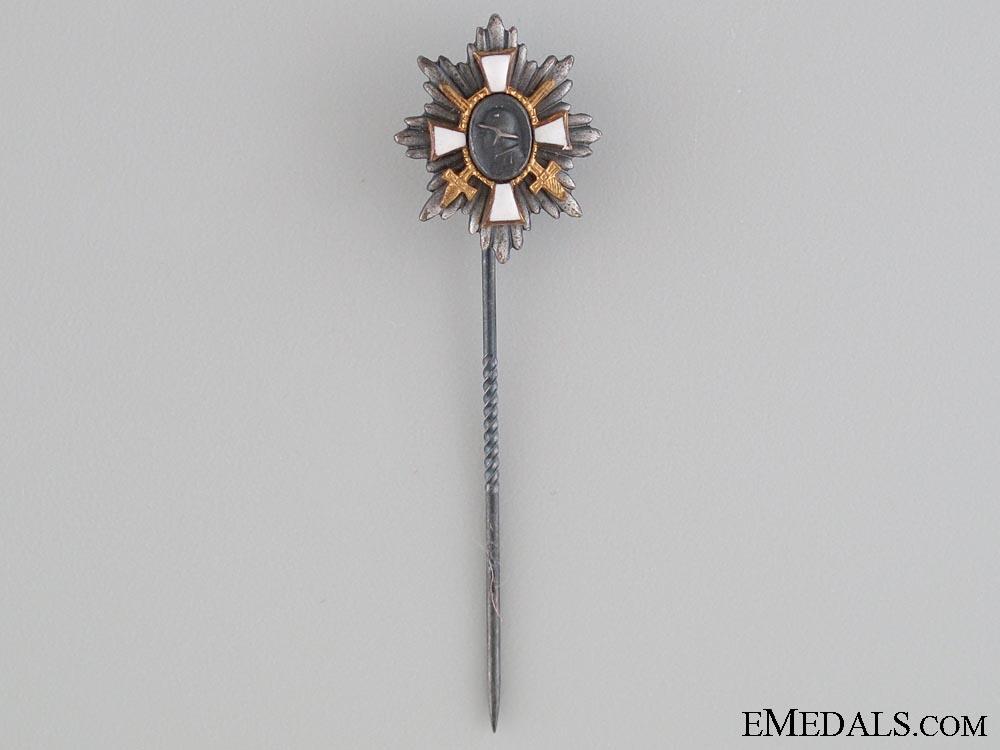 WWI Hamburg Honour Award with Miniature