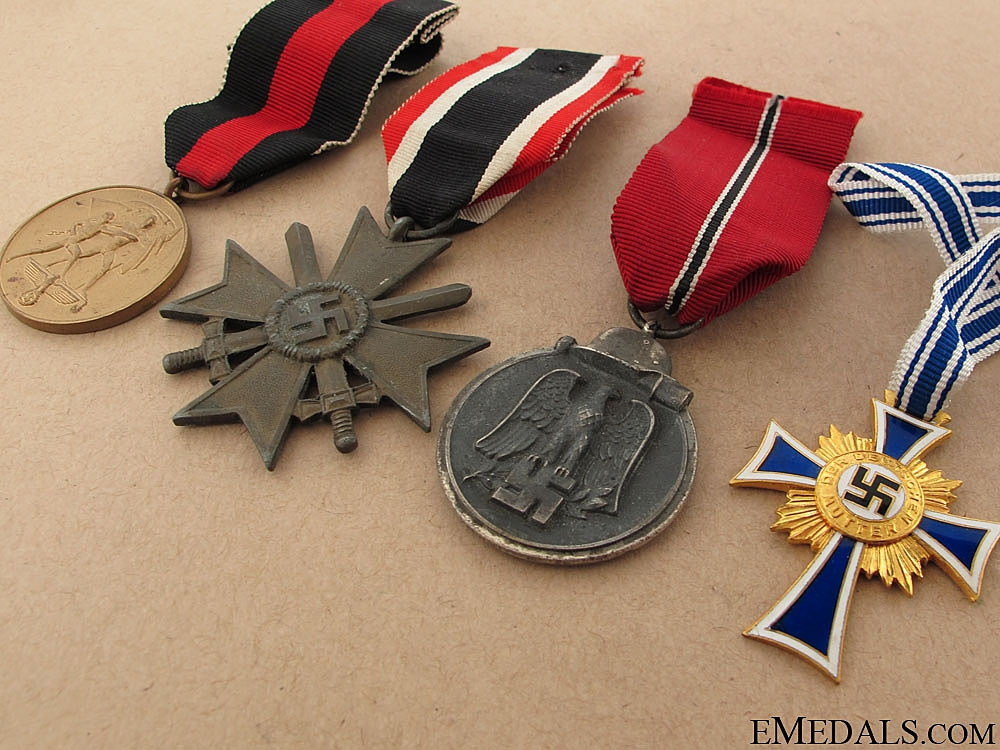 Group of Four German Awards