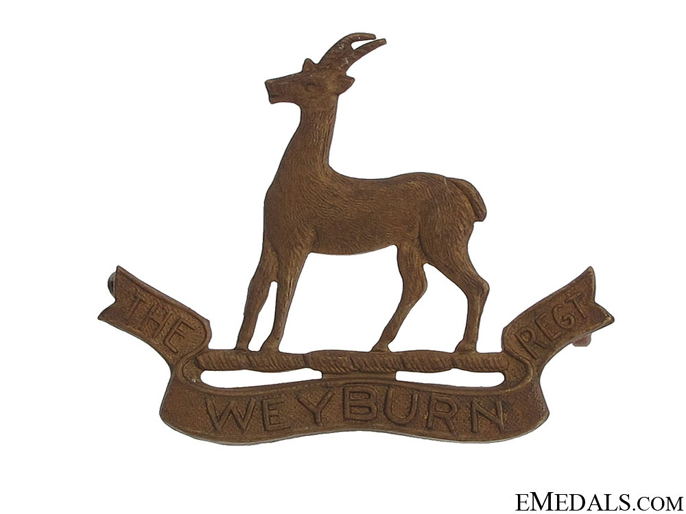 The Weyburn Regiment Insignia
