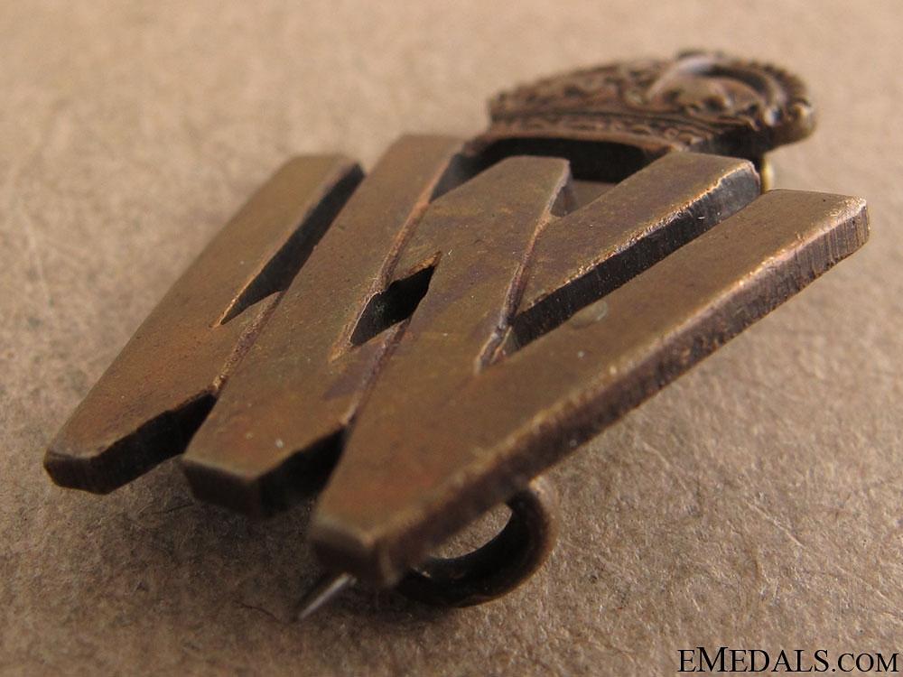 WWII Womens Volunteer War Service Badge