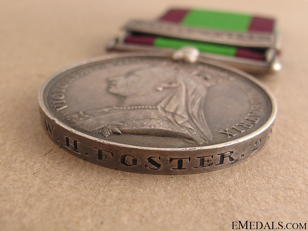 Afghanistan Medal 1878-1880 - 8th Foot