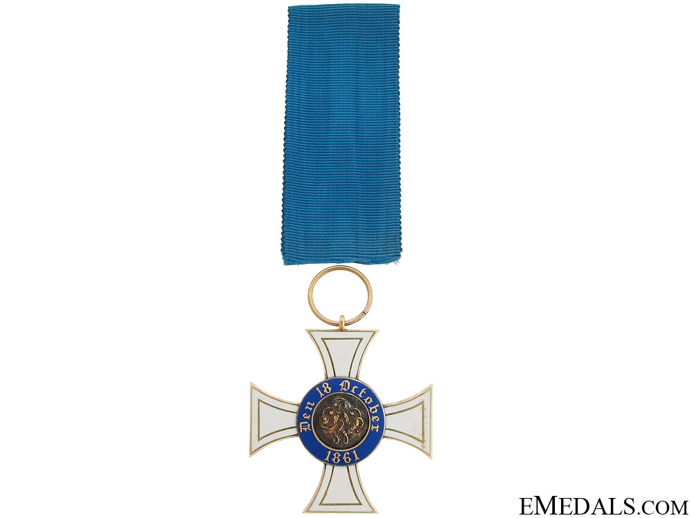 A Third Class Order of the Crown by Wagner
