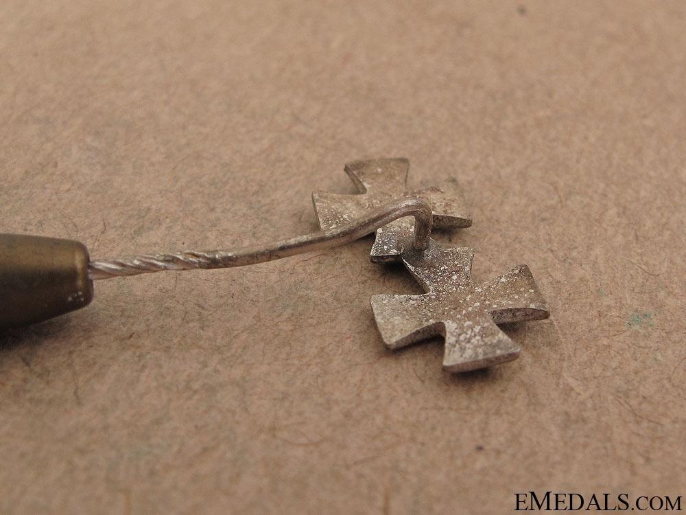 WWII Iron Cross 1939 Stickpin
