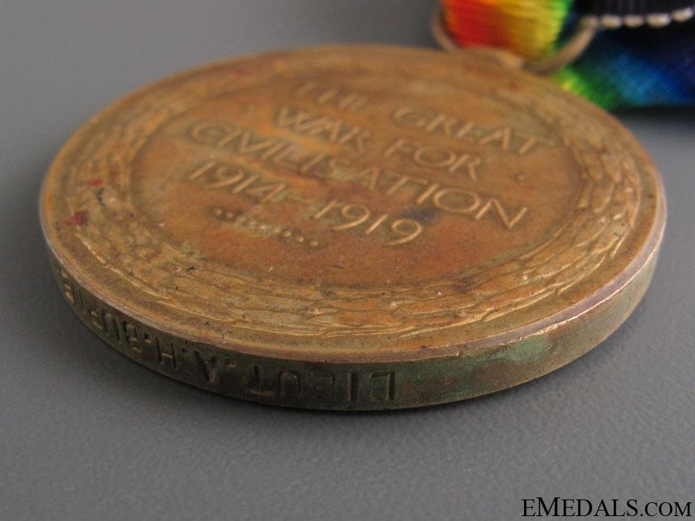 WWI Victory Medal - 2nd Lieutenant A.Burne