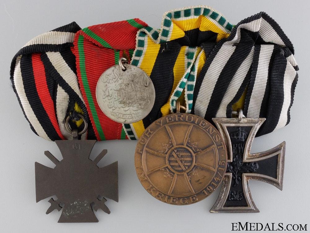 A First War German & Turkish Liyakat Medal Bar