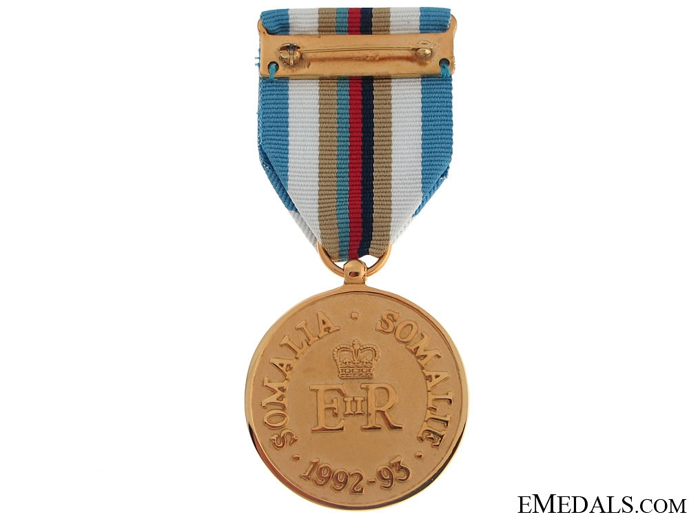 A Canadian Somalia Medal