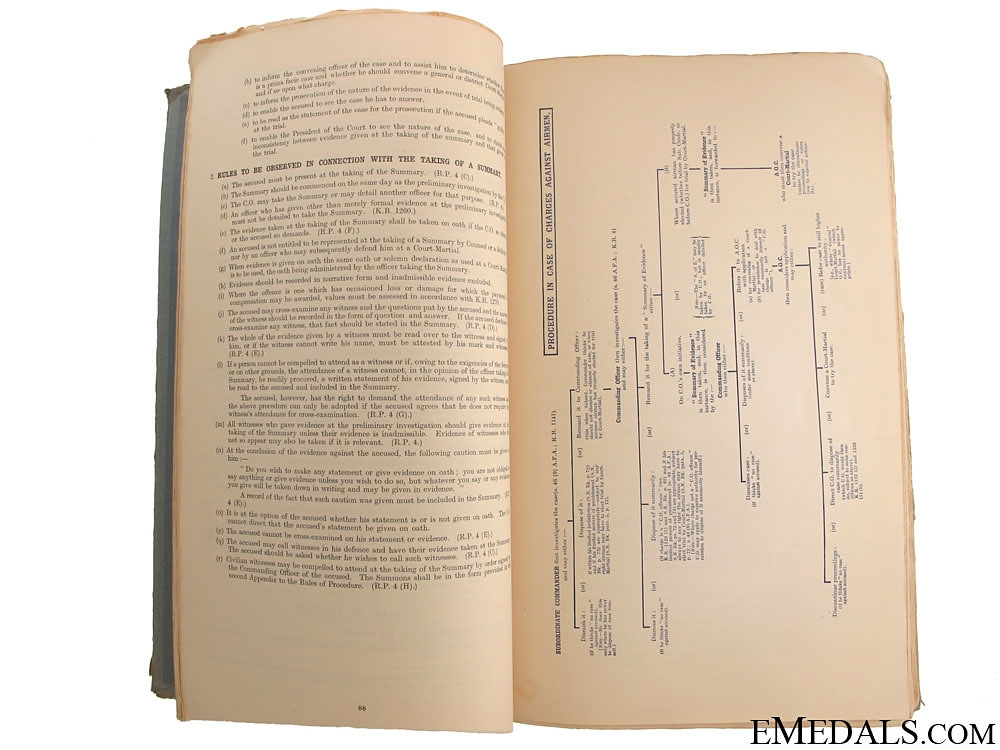 1941 Royal Australian Air Force NoteBook