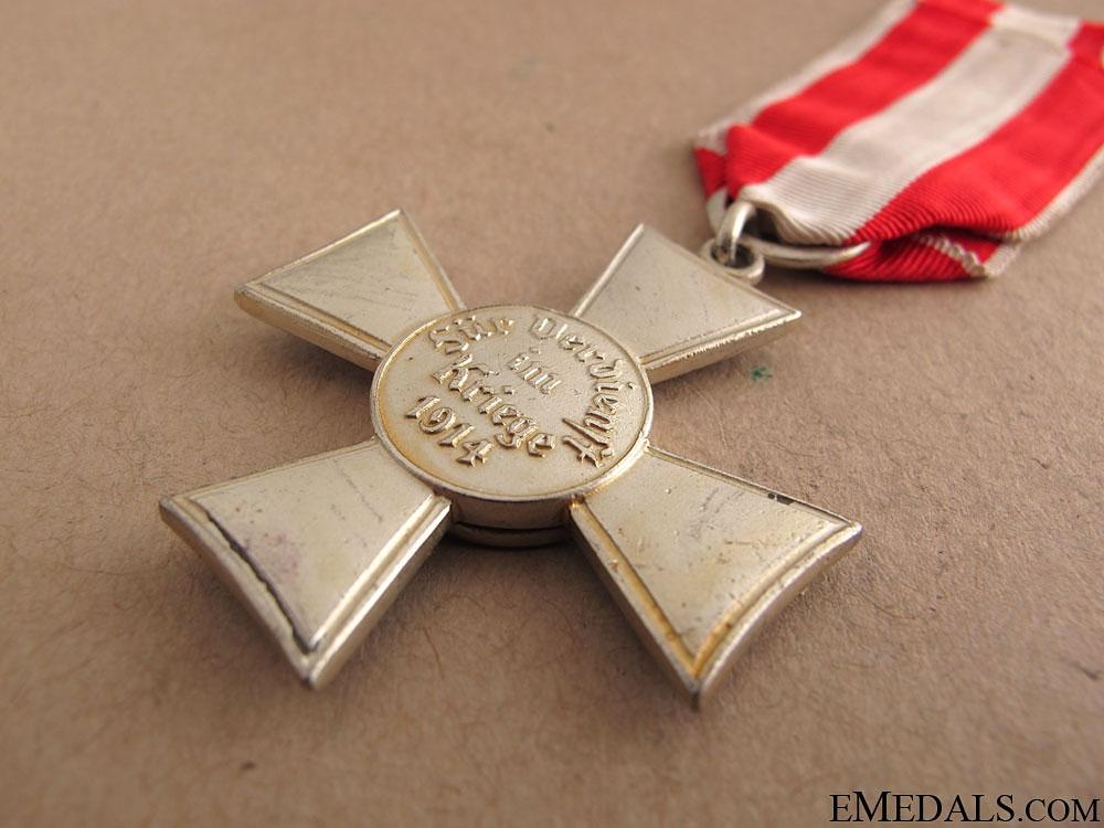 Hamburg Hanseatic War Cross 1914