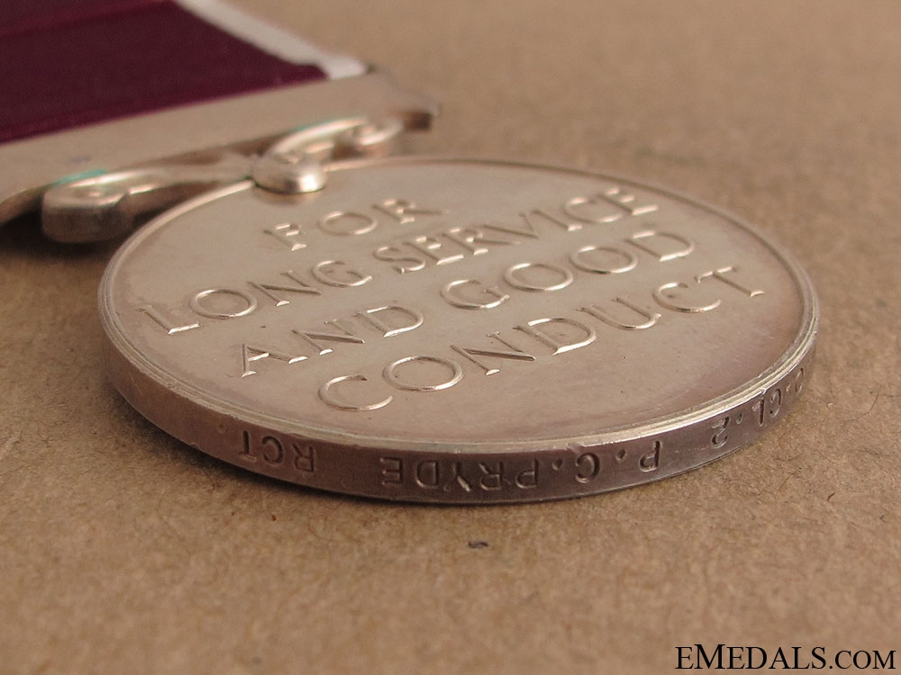 Long Service & Good Conduct Medal - RCT